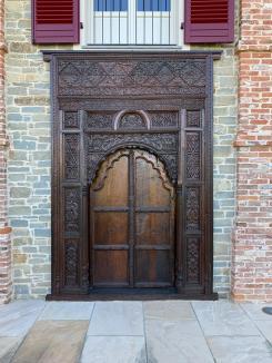 Door of Piedmont Airbnb