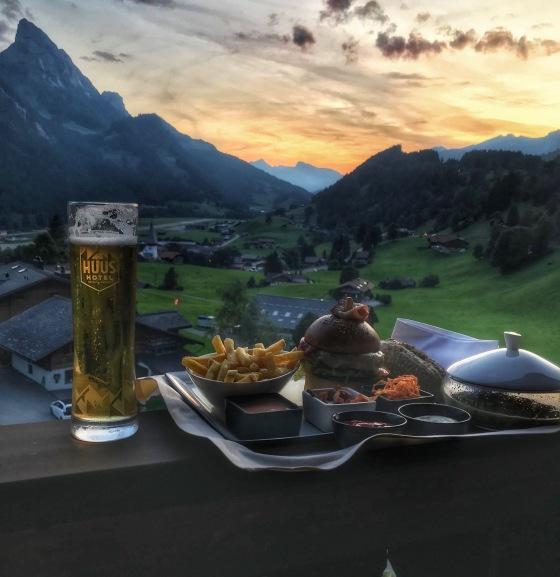 Gstaad dinner