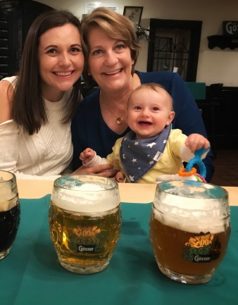 Beers with Mom in Bratislava