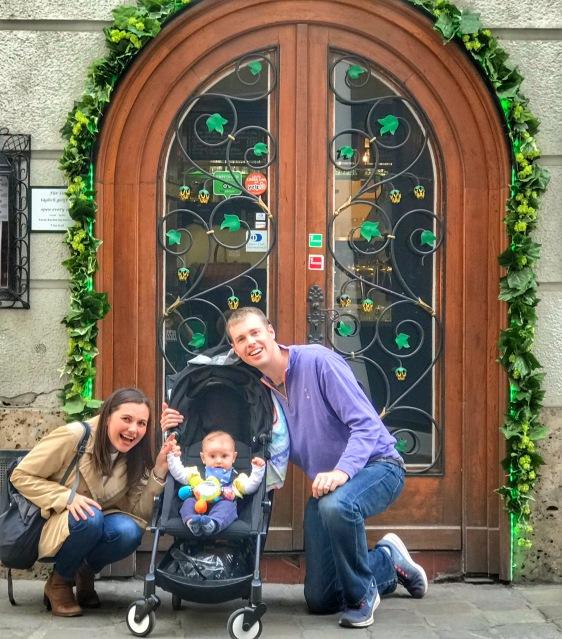 Family at Vienna Bar